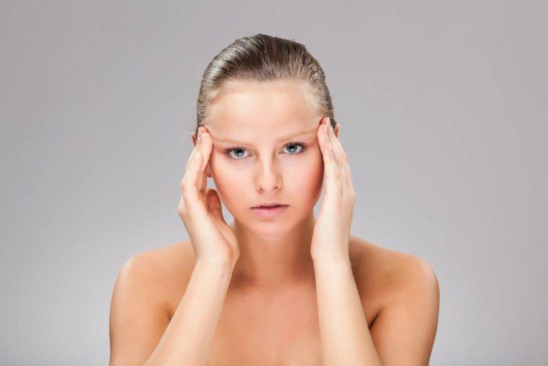 Клинические симптомы заболевания у девушки